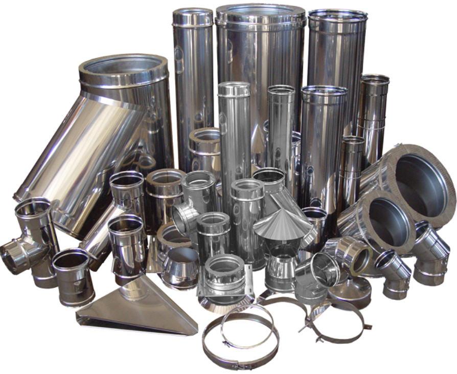 Элементы из нержавеющей стали