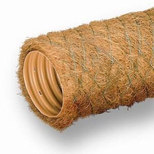 дрены с кокосовым волокном