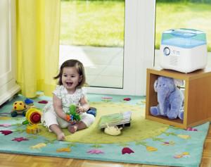 Польза увлажнителей воздуха для детского здоровья