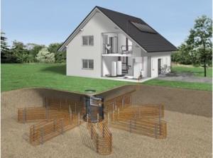 Схема системы грунт-вода