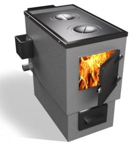 Комбинированный котел отопления на дровах и электричестве