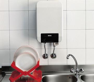 Установка бойлера для нагрева воды