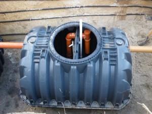 Септик для канализации накопительного типа