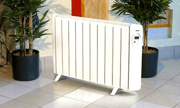 масляный радиатор в доме