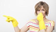 неприятный запах в ванной