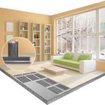 инфракрасный теплый пол в квартире