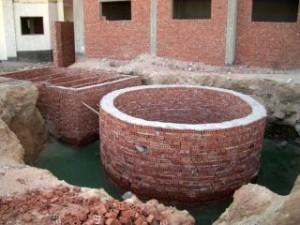 кирпичная автономная канализация