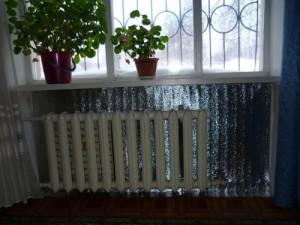 экран для теплоотдачи