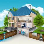 Все о канализации в частном доме: схема, глубина укладки, расчеты