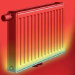 Таблица расчетов теплоотдачи радиаторов отопления