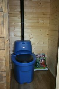 установка торфяного туалета в доме