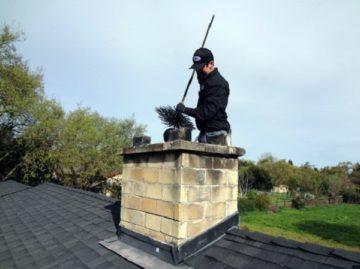как почистить трубу дымохода в частном доме