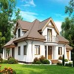 Защищенный дом на природе