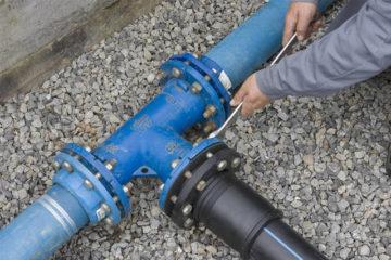 Подключение к городской водопроводной сети