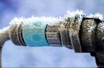 Замерзла вода в трубах