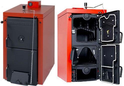 отопительные теплогенераторы на твердом топливе