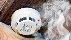 дым и сенсор