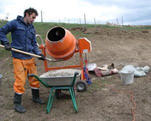 изготовление бетонной смеси своими руками