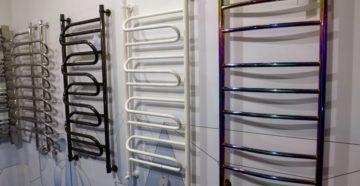электрические и водяные приборы в магазине