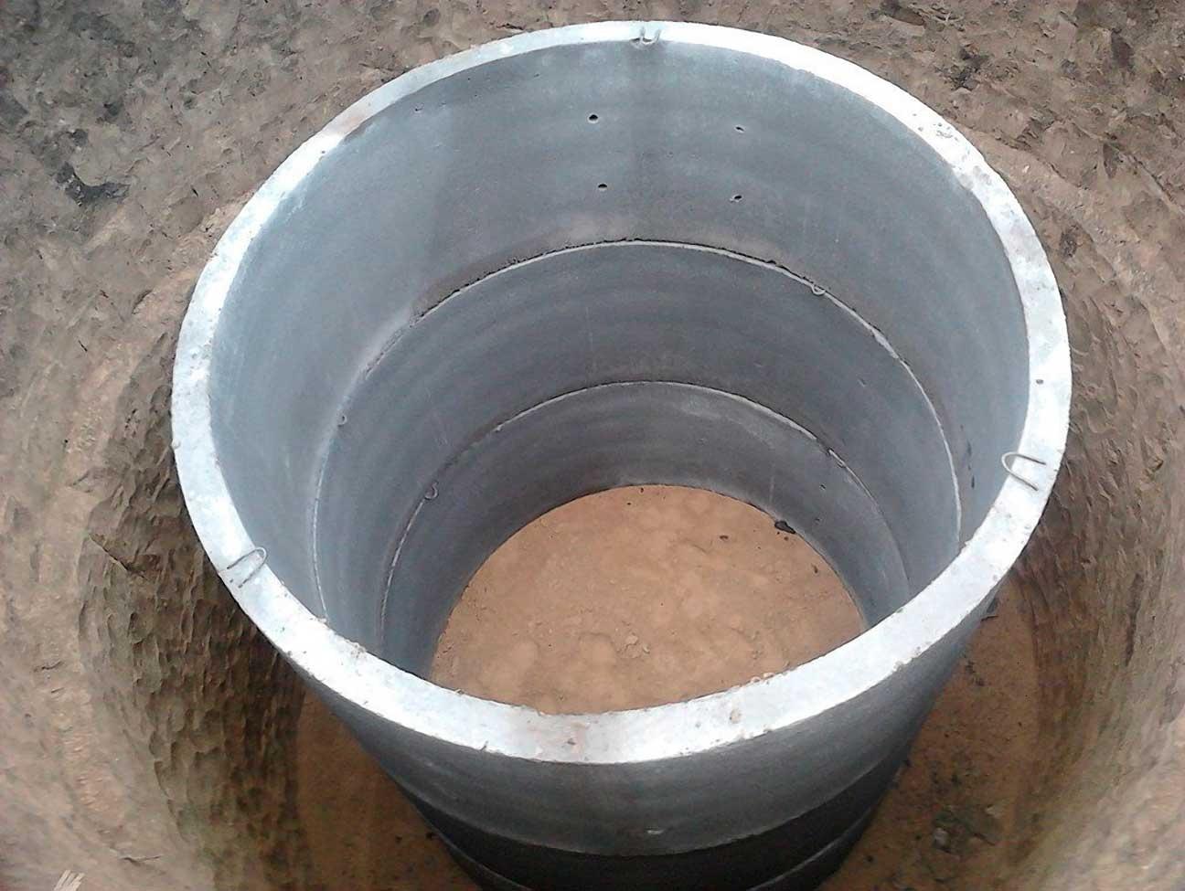 монтаж кольца для канализации цена