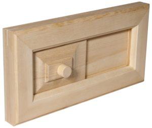 деревянная задвижка